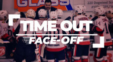 Face-Off IJshockey Time Out