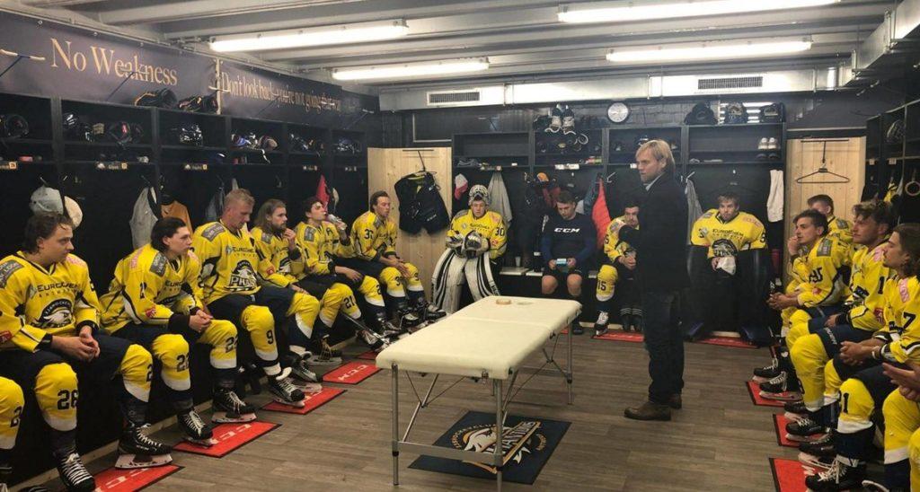 Antwerp Phantoms BeNe League IJshockey Face-Off