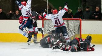 BeNe League IJshockey Face-Off AHOUD Devils Nijmegen
