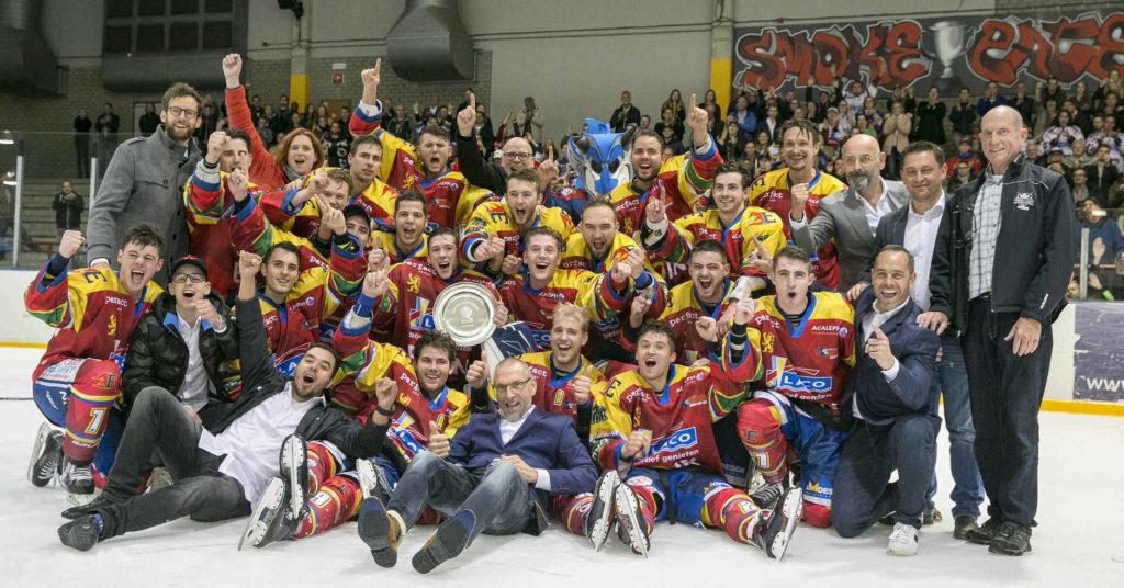 Geleen Ron Berteling Schaal IJshockey BeNe League
