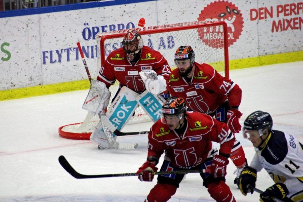 Stefan Steén, goalie bij Örebro HK