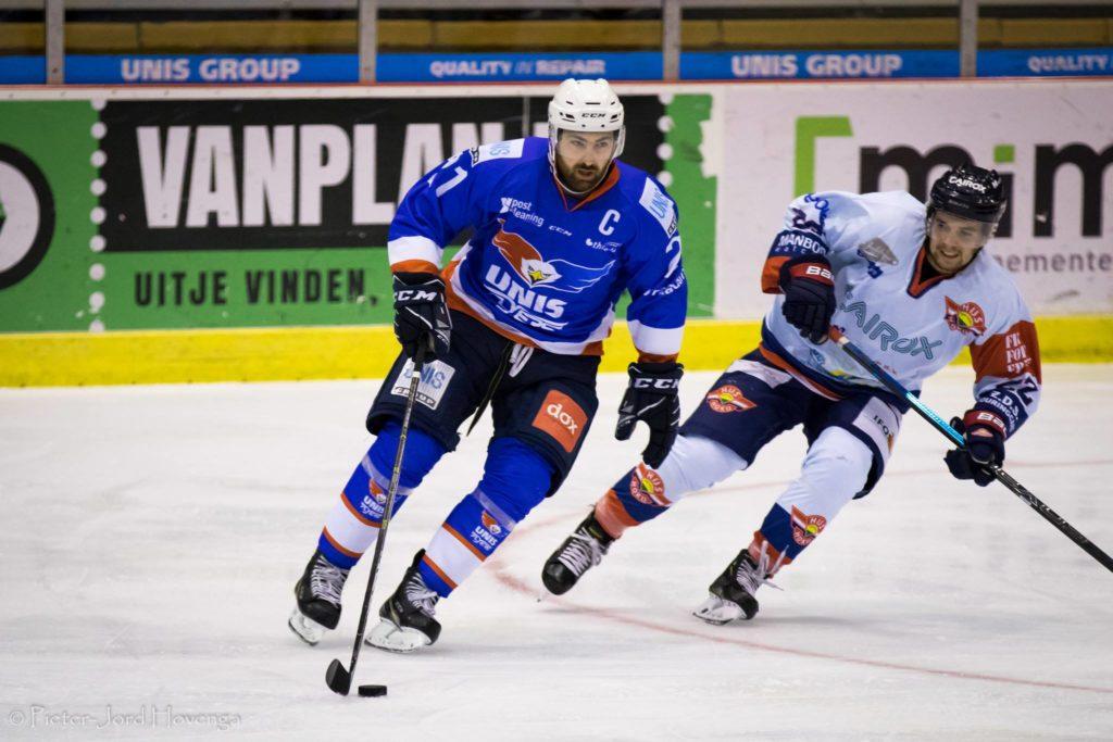 UNIS Flyers Heerenveen HIJS Hokij Den Haag IJshockey