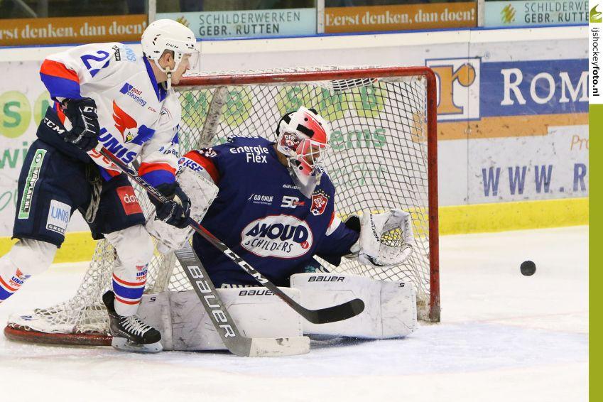 AHOUD Devils Nijmegen UNIS Flyers Heerenveen IJshockey