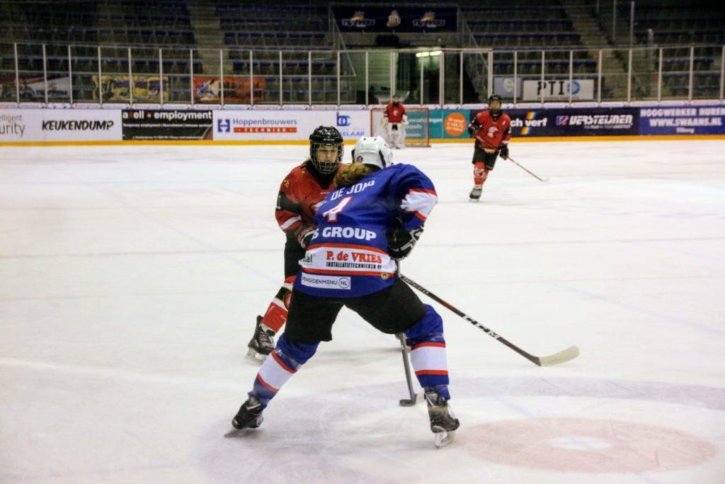 Unis Flyers Heerenveen U16 Capitals Leeuwaden U16 Red Eagles Den Bosch U16 Super Sunday IJshockey