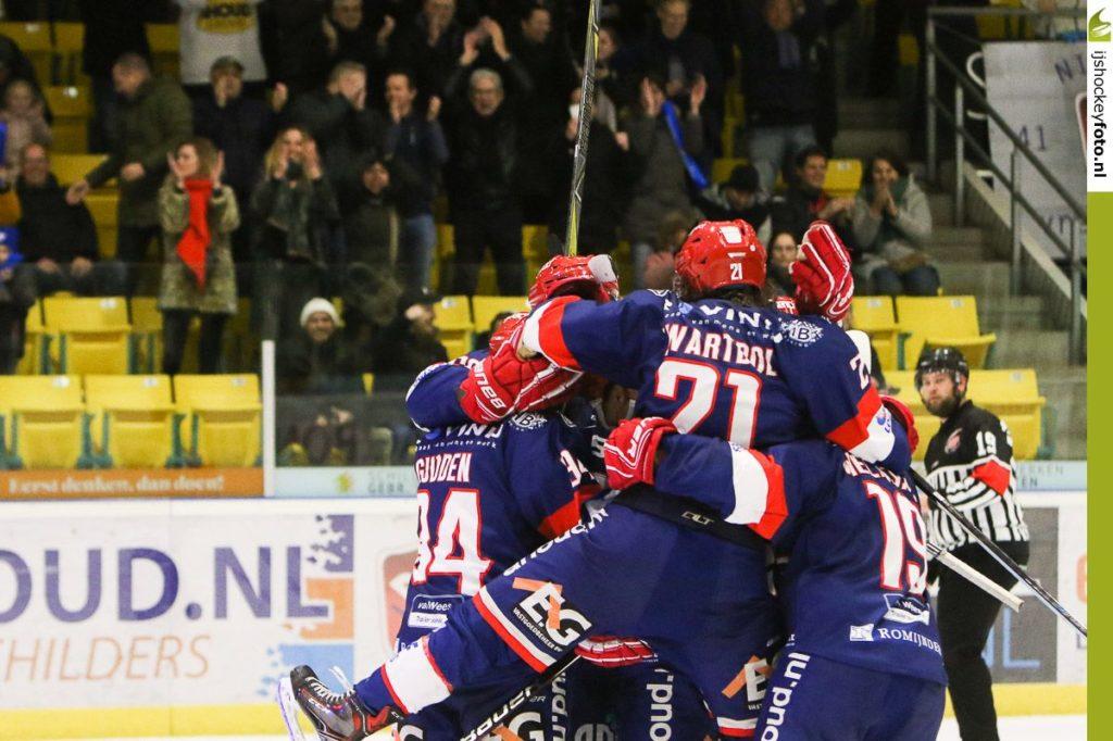 AHOUD Nijmegen Devils UNIS Flyers Heerenveen