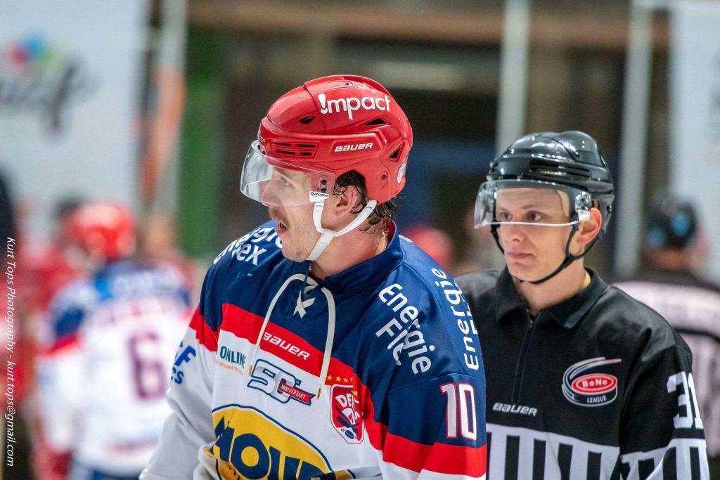 RJ Reed AHOUD Devils Nijmegen IJshockey