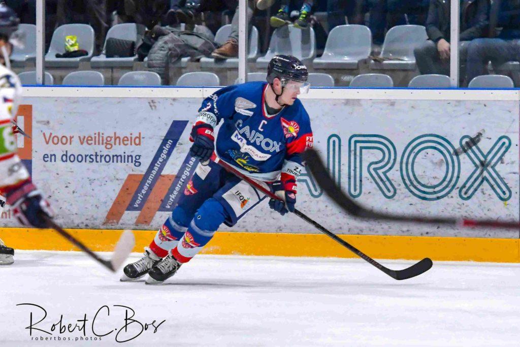 HIJS Hokij Den Haag Beker IJshockey Face-Off Alan van Bentem