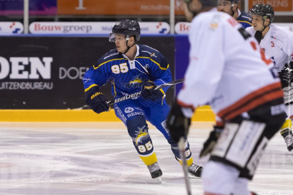 Danny Stempher, de maker van de 1-1 via een power-play goal