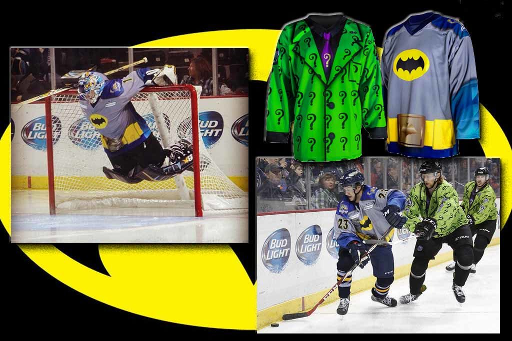 Toledo Walleye - Batman