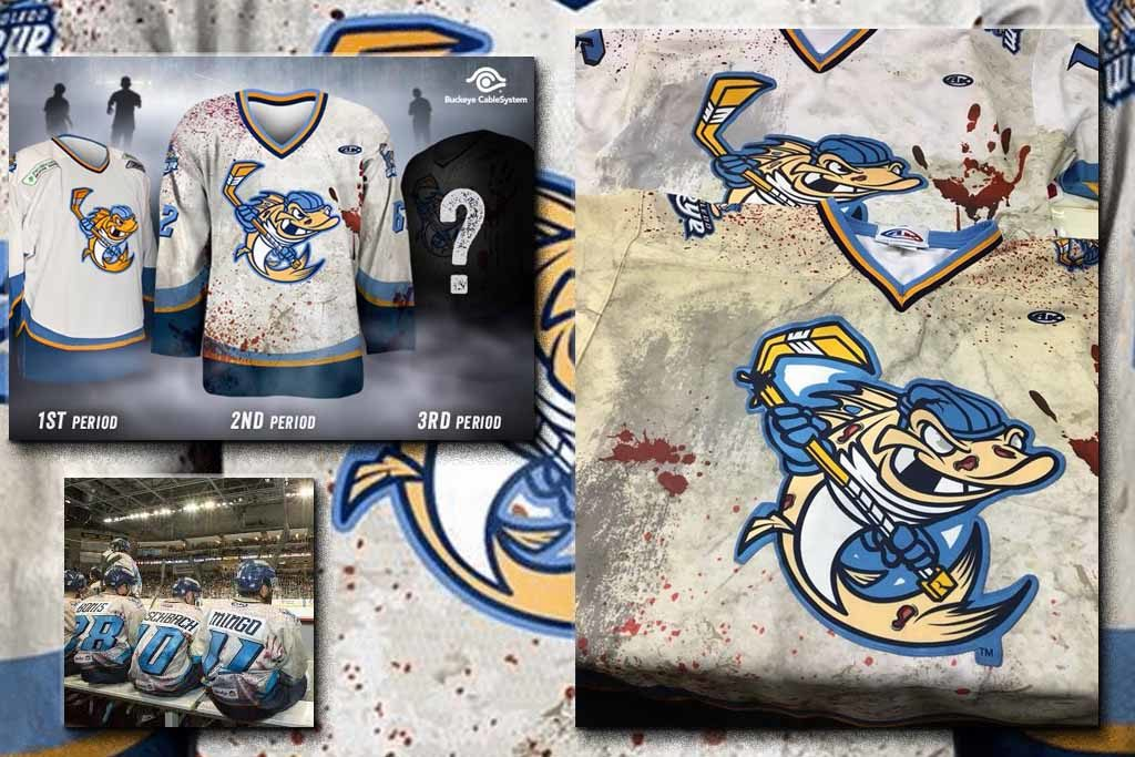 Toledo Walleye - Zombie night