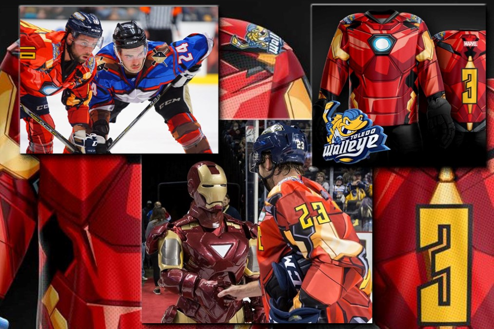 Toledo Walleye - Iron Man