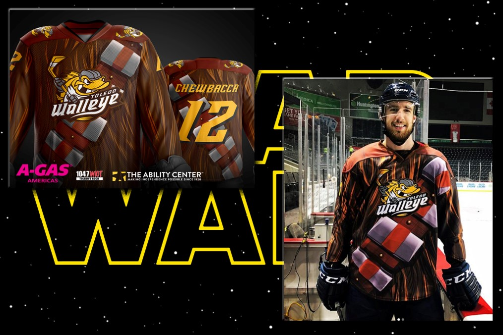 Toledo Walleye - Chewbacca