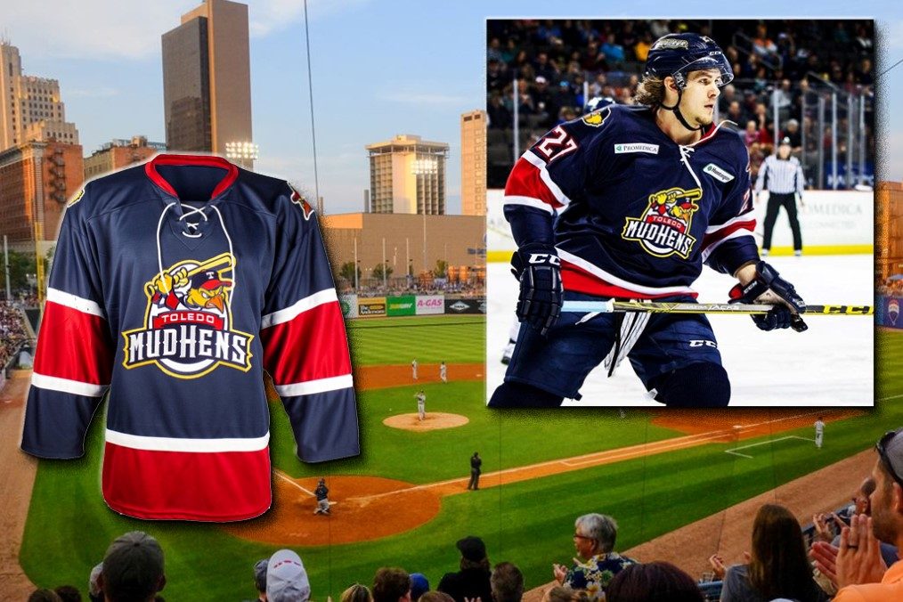 Toledo Walleye - Mud Hens