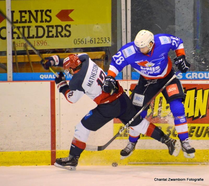 UNIS Flyers Heerenveen Luik Bulldogs