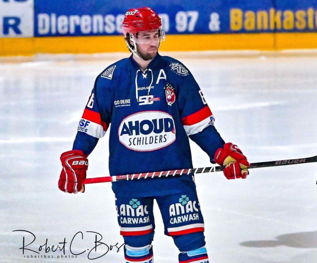 Nick de Jong AHOUD Devils Nijmegen