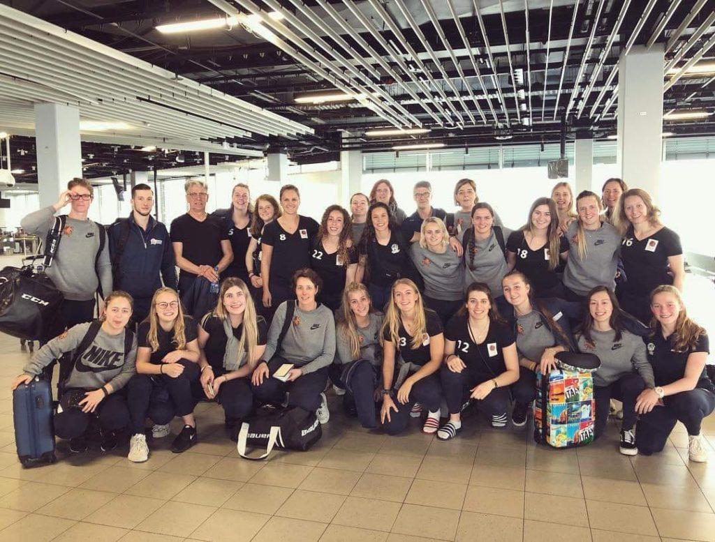 Nederland Dames WK Division IB