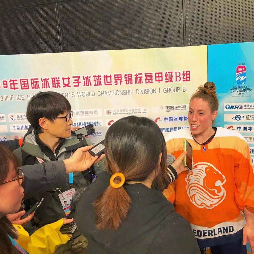 Oranje Nederland IJshockey