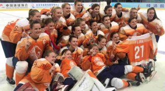 Oranje dames IJshockey
