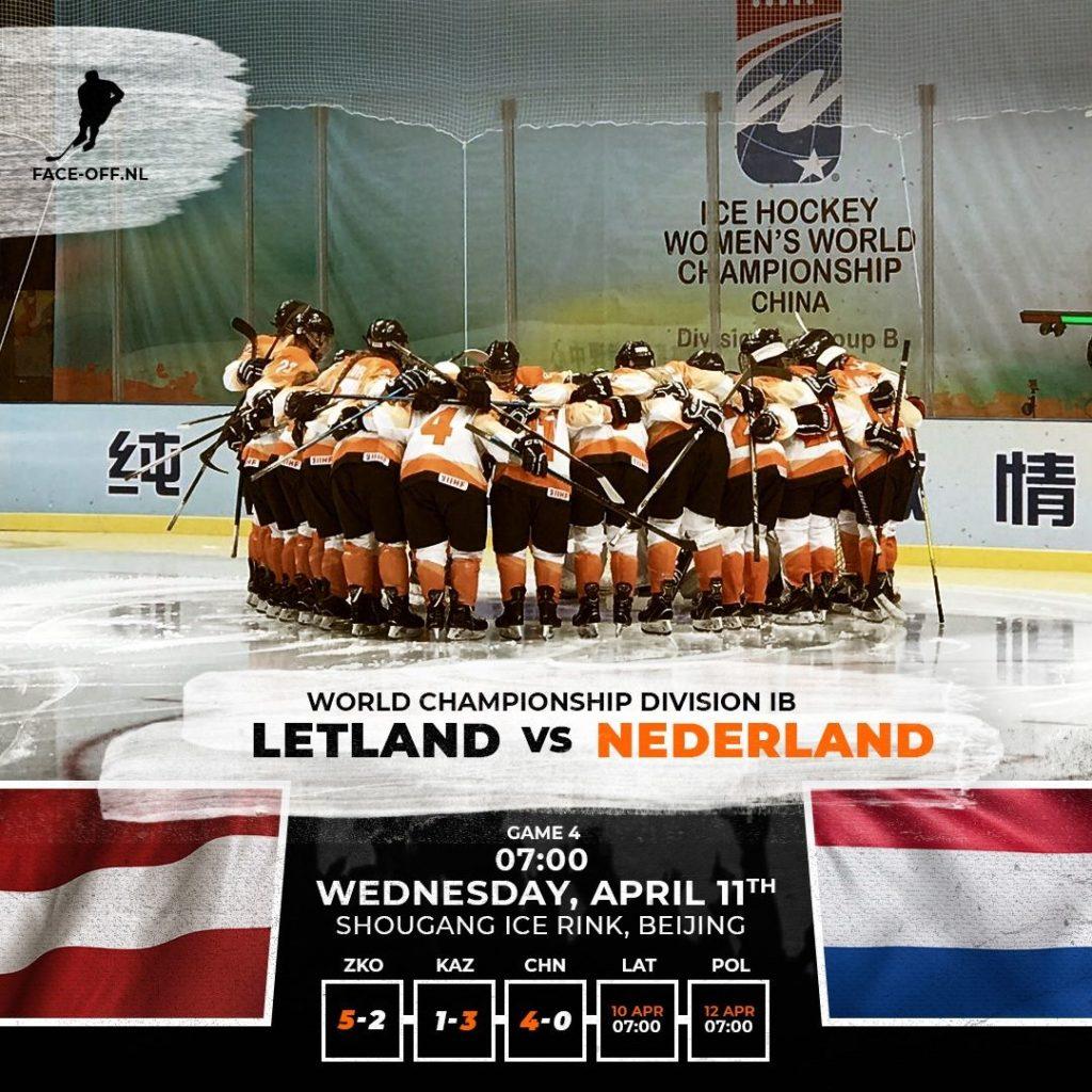 Letland Nederland Oranje IJshockey
