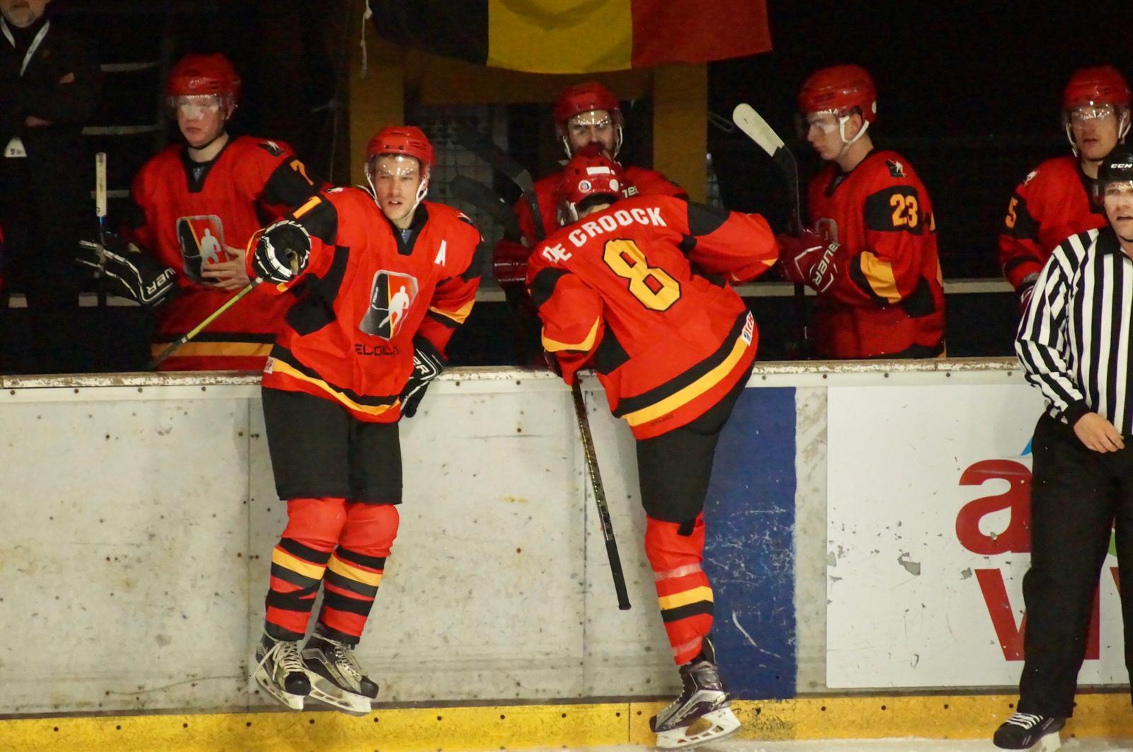 Team Belgium in Belgrado