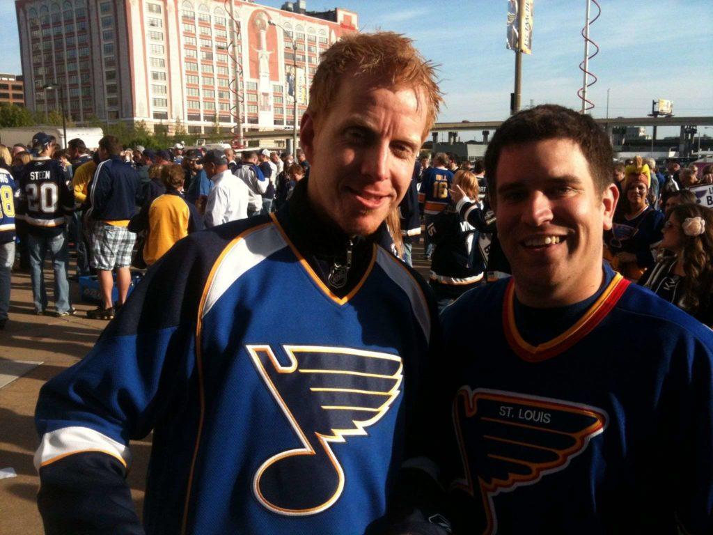 Gerard Bos St. Louis Blues
