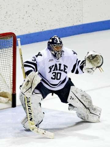 Patrick Spano spelend voor de befaamde Yale University