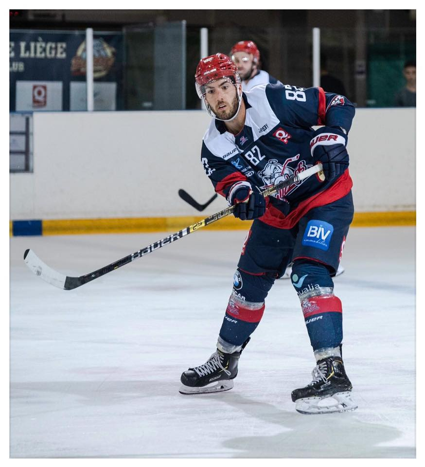 Jessiko Bernard Bulldogs Luik IJshockey