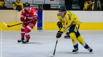 Elia Urlings Mechelen Golden Sharks IJshockey