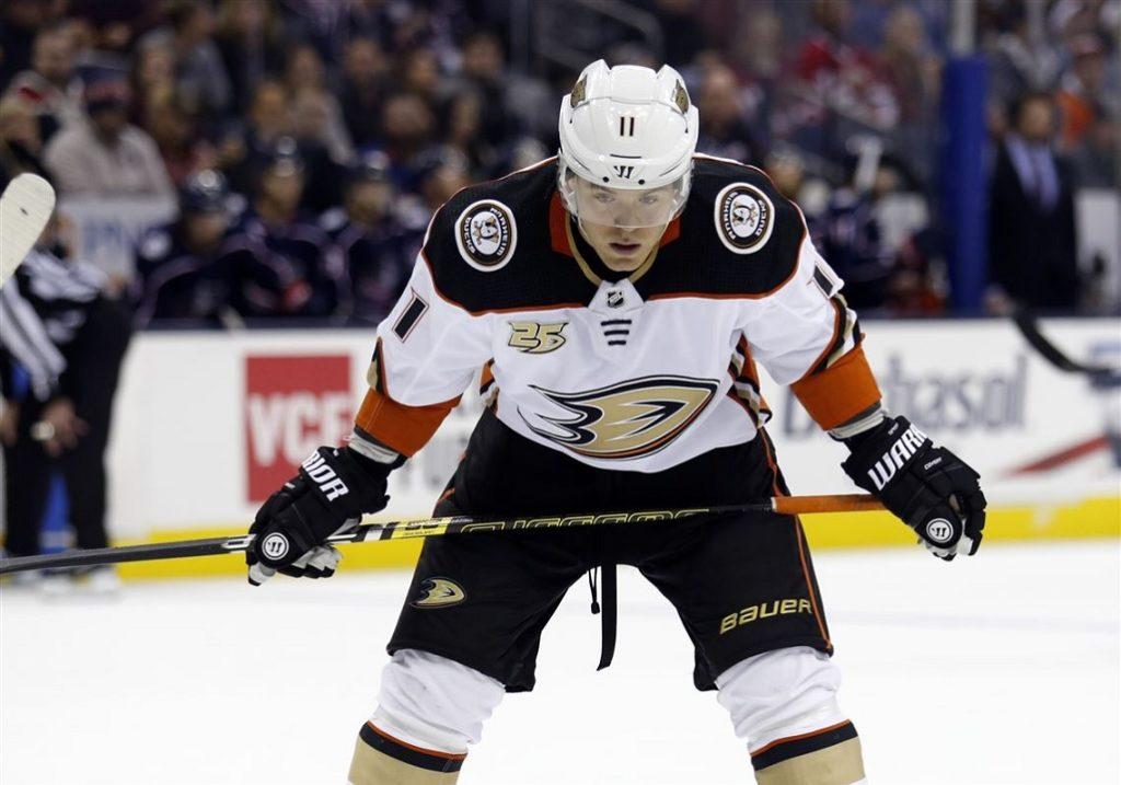 Daniel Sprong Anaheim Ducks IJshockey