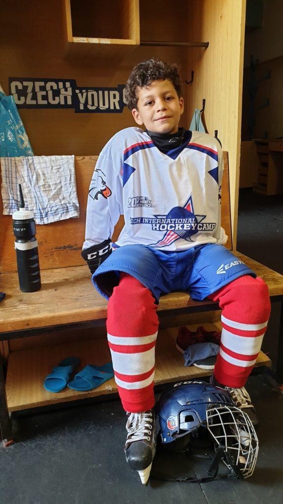 Max Teklehaimanot Eindhoven Kemphanen IJshockey