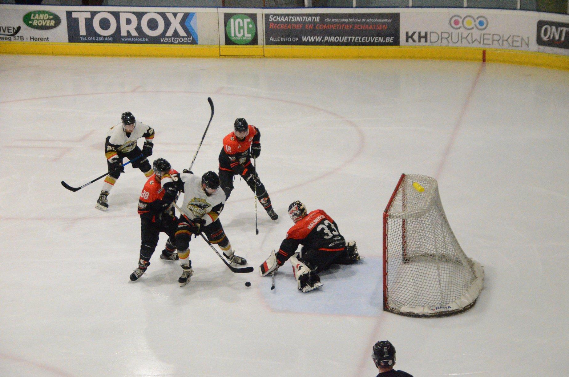 Chiefs Leuven Mechelen Golden Sharks