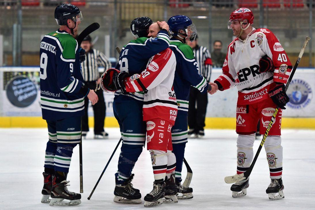 IJshockey Dordrecht Lions GIJS Groningen