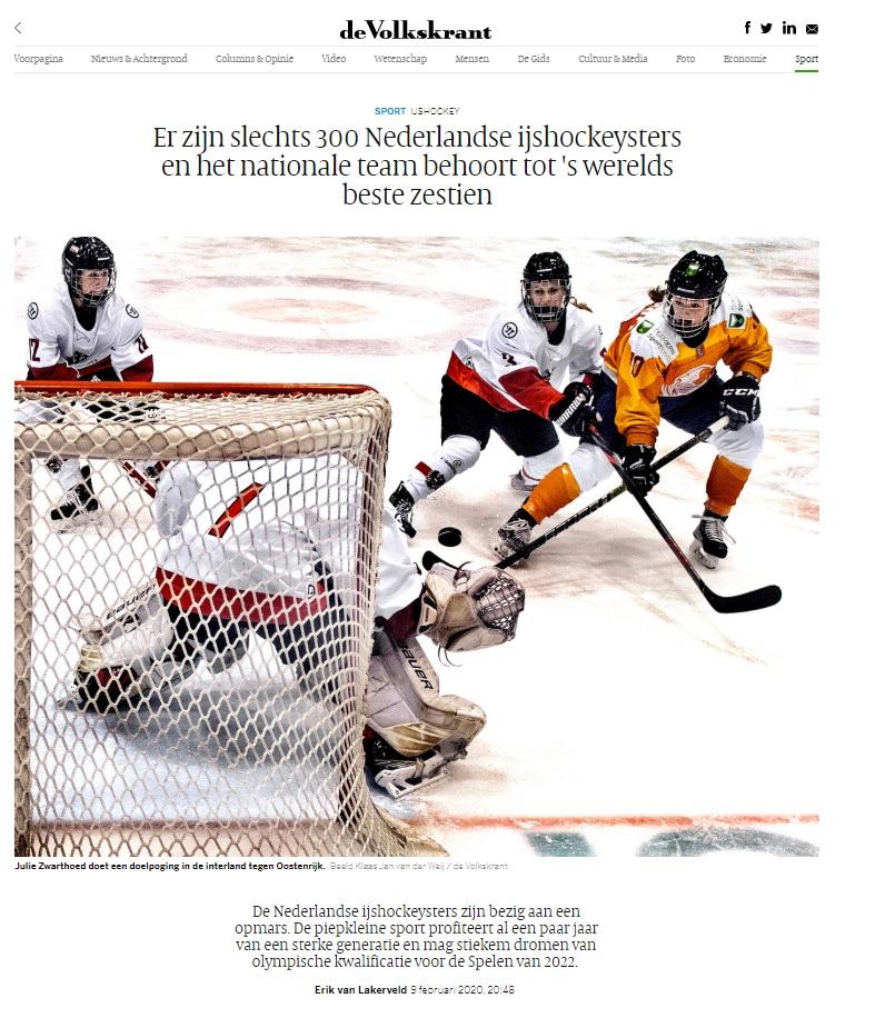 Volkskrant IJshockey
