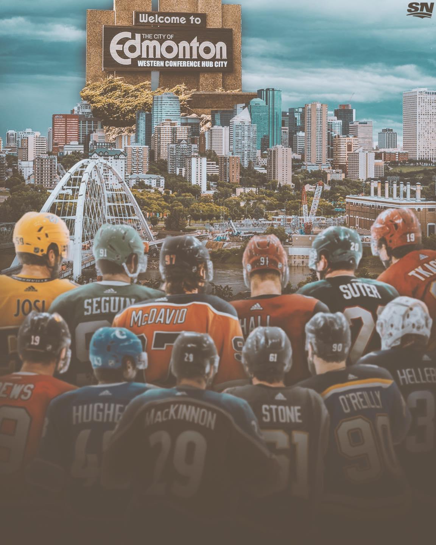 NHL Playoffs Edmonton