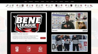 BeNe Site Front Page
