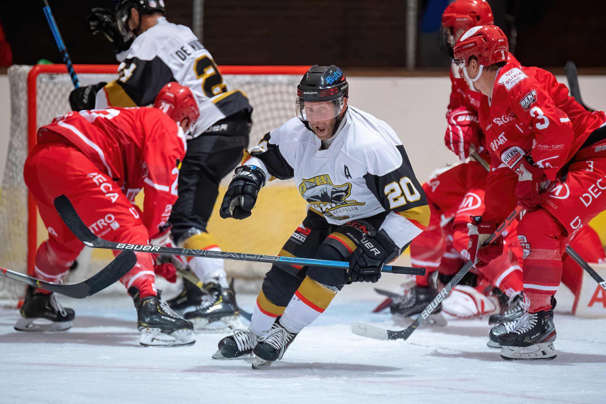 Heylen Vastgoed HYC vs Mechelen Golden Sharks
