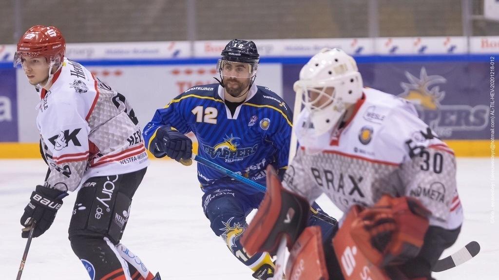 Tilburg Trappers Kevin Bruijsten IJshockey