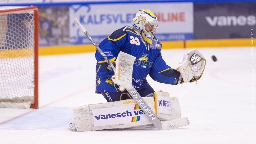Tilburg Trappers Ruud Leeuwesteijn IJshockey