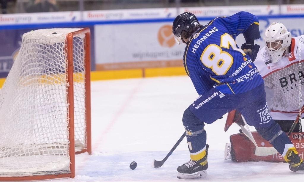 Tilburg Trappers Max Hermens IJshockey