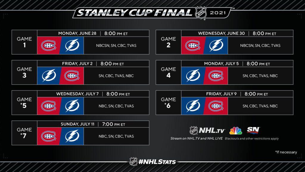 Tampa Bay Lightning Montreal Canadiens